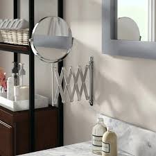 makeup mirror wall mount h x w extendable wall mount magnifying makeup mirror 10x magnifying lighted makeup mirror swing arm wall mount