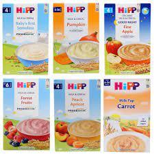 Bột ăn dặm Hipp loại nào ngon? Nên mua có sữa hay không có sữa vị mặn -  Majamja.com