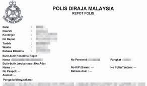 Can You Still Report An Accident To The Pdrm After 24