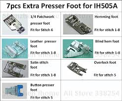 Brother Sewing Machine Presser Foot