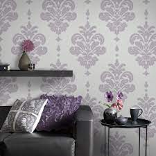Graham & Brown Lilac Olana Wallpaper-20 ...