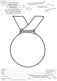 Design Your Own Medal Medal Worksheet Printable Worksheets And Activities For