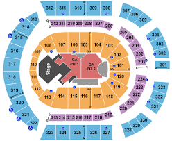 Bridgestone Arena Seating Chart Virtual Cmt Music Awards Tickets At Bridgestone Arena Wed Jun 5