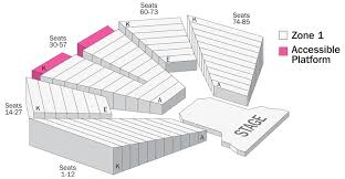 Seating Maps Wharton Center For Performing Arts