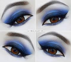 glamorous navy blue smoky eye makeup tutorial you navy blue eye makeup smokylenscoll dark