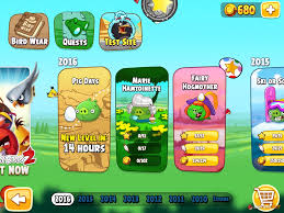 Angry Birds Seasons Marie Hamtoinette Episode Selection Screen