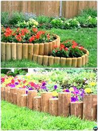 wooden garden edging wooden garden edging best garden edging ideas images on wood garden