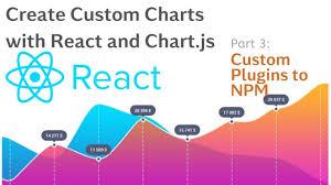 Chart Plugin Create Custom Charts With React And Chart Js Tutorial 3 Custom Plugin To Npm