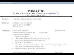 Common Resume Errors - Resume NOT Application Form