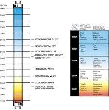 Fluorescent Light Color Spectrum Chart Fluorescent Light Temperature Bright Star Led Christmas