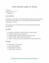 Best Resume For Freshers Format Pdf Download Engineers Free