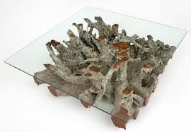 Teak Root Coffee Table · Twisted Cocktail Table Pictures