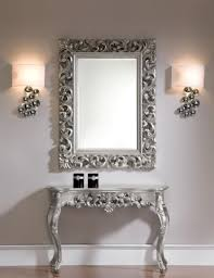 mirror console table. View Larger Gallery Silver Console Table And Mirror L
