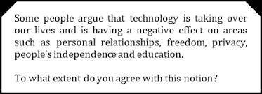 essay on technology today the negative effects of technology