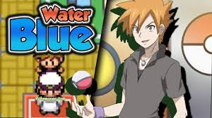 https://youtu.be/iMJf-RB-9Yk Pokemon Water Blue - A New GBA Hack Rom You  are Blue Join Team Rocket .... Let's play!