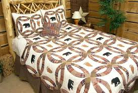 Black Bear Quilt Cracker Barrel Black Bear Lodge Quilt Pattern ... & ... Donna Sharp Black Bear Quilts Black Bear Quilt Set Black Bear Quilt  Panels Black Bear Lodge ... Adamdwight.com