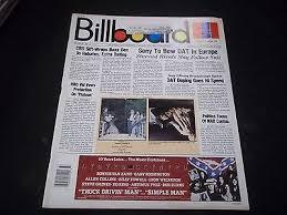 1987 September 12 Billboard Magazine Great Vintage Music