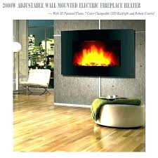 chimney free 48 inch electric fireplace heater wall mount ideas decor flame mounted reviews