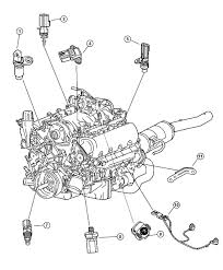 Dodge knock sensor location on 2001 mercury villager engine diagram