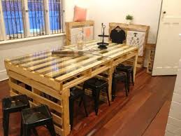 furniture diy pallet dinner table diy recycled pallet dining tables recycled