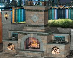 cambridge fully assembled outdoor fireplace