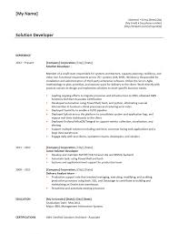 Obiee Sample Resumes Resume Jobs Cv Developer Admin Reports Oracle