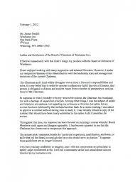 Sample Resignation Letter From Board Member Sample Board Resignation Letter Efestudios Co