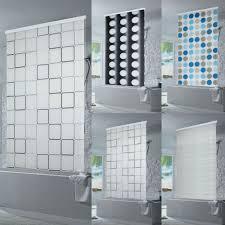 Duschrollo Für Fenster Fantastisch Und Natürlich Halb Kassetten