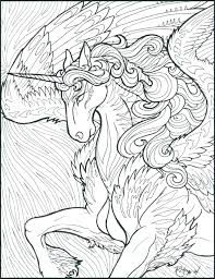 Unicorn Coloring Books H7641 Hard Coloring Pages Of Unicorns Unicorn