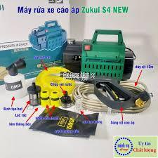 Máy rửa xe Zukui S4 NEW- 2000W tặng 1 bộ khớp nối nhanh đầu ra bằng đồng:  Mua bán trực tuyến Vệ sinh & bộ đồ nghề vệ sinh với giá rẻ