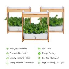 Led Herb Grow Light Ideer Life Mee Kitchen Smart Indoor Gardening System W Led