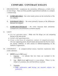 comparison essay template how to write compare essay how to write  of college compare and contrast essays comparison and contrast how to write compare and contrast essay