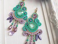 1453 Best sujtas images in 2019   Handmade jewellery, Soutache ...