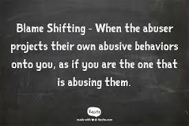 Blame Shifting | Gentle Kindness via Relatably.com