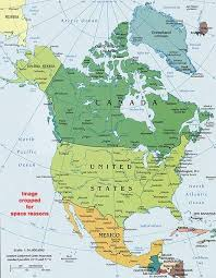 North America Political Map World Atlas And Maps Map America
