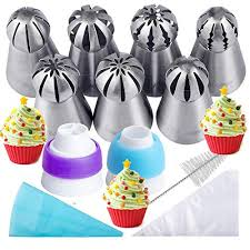 Russian Piping Tips 21pcs Bakers Kitset For Cakecupcake