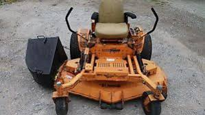 used commercial zero turn mowers scag turf tiger 61 deck commercial zero turn lawn mower 212 hours