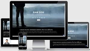 Template Websites Gorgeous Best Portfolio Website Template Free WebThemez