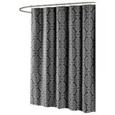 cream and black shower curtain. gallery of vintage ticking stripe shower curtain with ruffles 11 color black and cream h