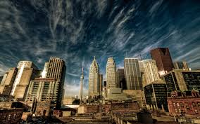 Buildings Cityscapes Clouds HDR Photography Skyscapes Toronto