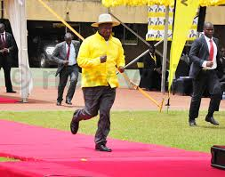 Image result for images of yoweri museveni