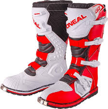 Oneal Amx Gloves O Neal Rider Motocross Boots Red White
