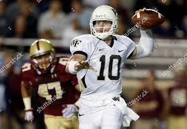 Boston College Football Depth Chart 2013 Spenser Rositano Tanner Price Wake Forest Quarterback