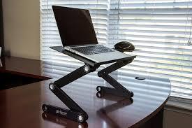 executive office solutions portable adjule aluminum laptop desk
