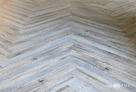 lvp herringbone floors basement reveal