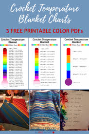 To make a chore calendar simply select a calendar style. Crochet Temperature Blanket Charts Free Downloads Allfreecrochet Com