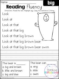 Reading Worksheets For Kindergarten Free Free Worksheets Library ...