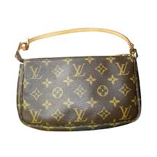 louis vuitton clutch bag. louis vuitton day clutch bag pochette brown monogram canvas small handbag lv golden ref. a48394 - instant luxe u