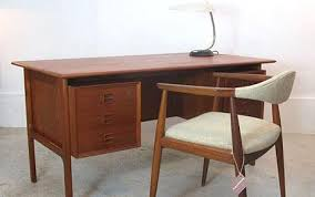 mad men office furniture. Mad Men Interiors: Arne Vodder Desk, £895, Designs Of Modernity Mad Men Office Furniture
