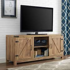 Walker Edison Furniture Company Rustic Barnwood Storage Entertainment Center Rustic Entertainment Center56